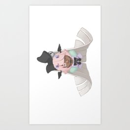 Angel - side Art Print