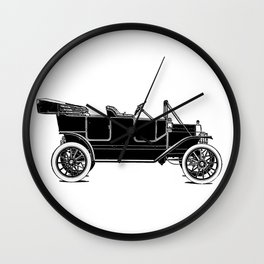Old car Wall Clock
