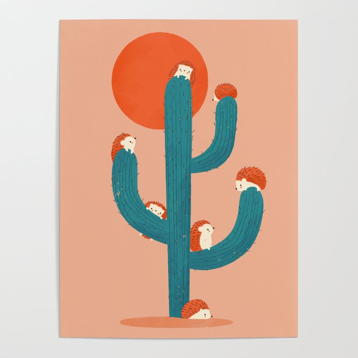 Prickly Poster