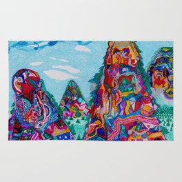 Talking Mountains Rug