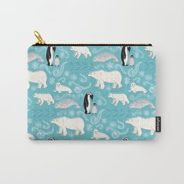 Artic Winter Wonderland Carry-All Pouch