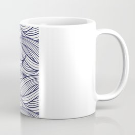 abstract pattern of thin braided lines Coffee Mug