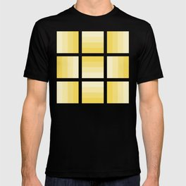 Four Shades of Yellow T-shirt