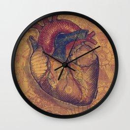 MINTED HEART Wall Clock