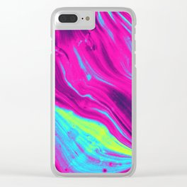 -electric- Clear iPhone Case