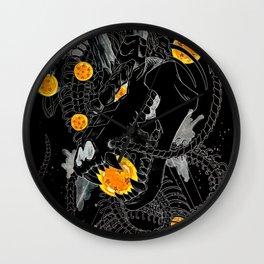 Death Crew Black Edition - Shenron Wall Clock