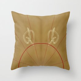 Compendium Page Throw Pillow