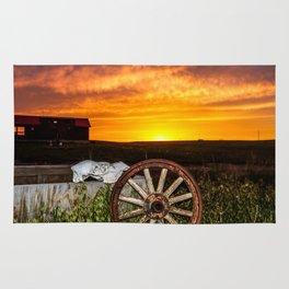 Wyoming Sunset Rug