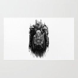 Black Swordsman Rug