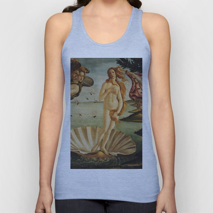 The Birth of Venus by Sandro Botticelli Unisex Tank Top