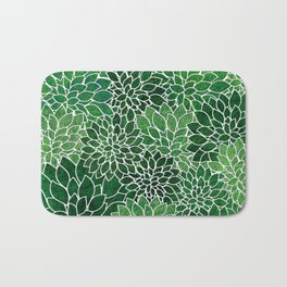 Floral Abstract 23 Bath Mat