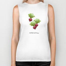 Let The Beet Drop Biker Tank