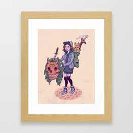 Collector Framed Art Print
