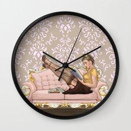 À LA MAISON Wall Clock