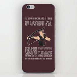 The Archer iPhone Skin