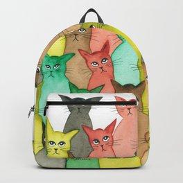 Toledo Many Whimsical Cats Backpack