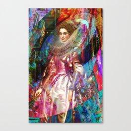 Galaxy Queen Canvas Print