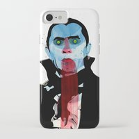 the vampire diaries iPhone & iPod Cases featuring Vampire by Alvaro Tapia Hidalgo