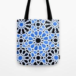Moroccan Zellige pattern Tote Bag