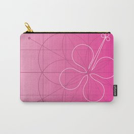 hibiscus window Carry-All Pouch
