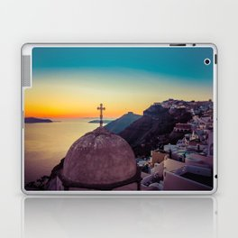 Adorable Santorini Laptop & iPad Skin