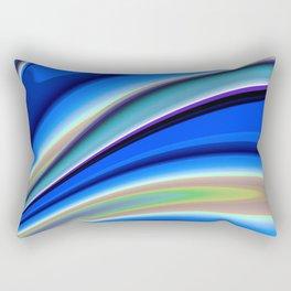 Abstract Fractal Colorways 01BL Rectangular Pillow