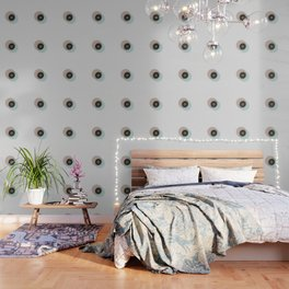 Minimalistic Vintage Design with gold accents Wallpaper