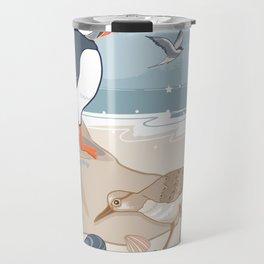 Coastal Birds By The Sea Travel Mug
