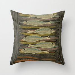 Serendipity / Herrings 1 Throw Pillow