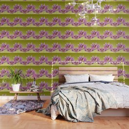 Lotos Flowers violet Wallpaper