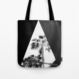Form & Palm Trees Tote Bag