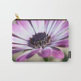 Purple Osteospermum Carry-All Pouch