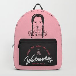 Wednesday Addams Eyes Backpack