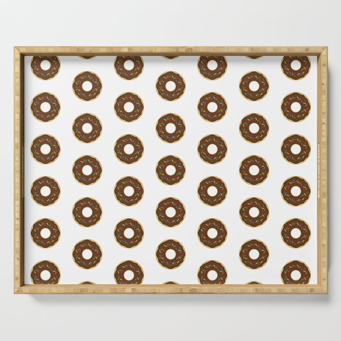 The Donut Pattern II Serving Tray