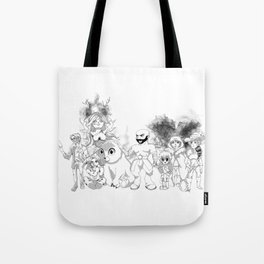 Vox Machina - Critical Role Line Art Tote Bag