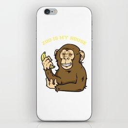 Zoo, Animal, Pet iPhone Skin