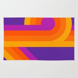 Purple Looper Rug