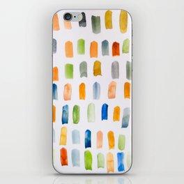 Watercolor Brush Strokes iPhone Skin