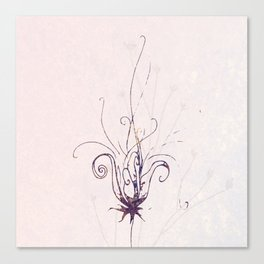 Whimsical Wilde Flower Canvas Print