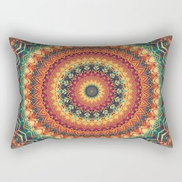 Mandala 254 Rectangular Pillow