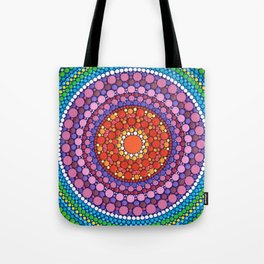Mandala of Zest Tote Bag