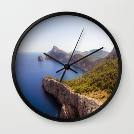 Earth Meets Water Wall Clock