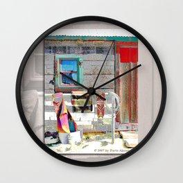 Bunkhouse Window Wall Clock