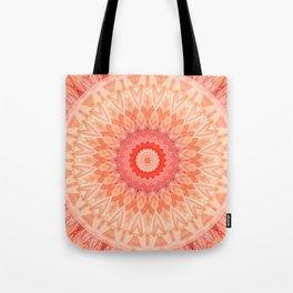 Mandala soft orange Tote Bag