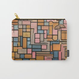 Piet Mondrian - Tableau III, composizione in ovale, 1914 Carry-All Pouch