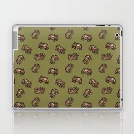 Baby Malayan tapir Laptop & iPad Skin