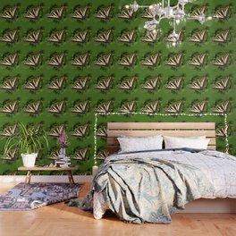 Western Tiger Swallowtail in the Garden Wallpaper