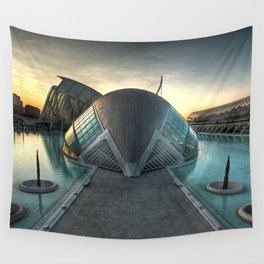 Hemisferical X Wall Tapestry