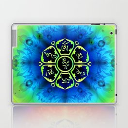 """Om Mani Padme Hum"" - Embodiment of Compassion Laptop & iPad Skin"