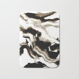 Black + White 3 Bath Mat